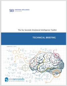 emotional intelligence assessment technical manual