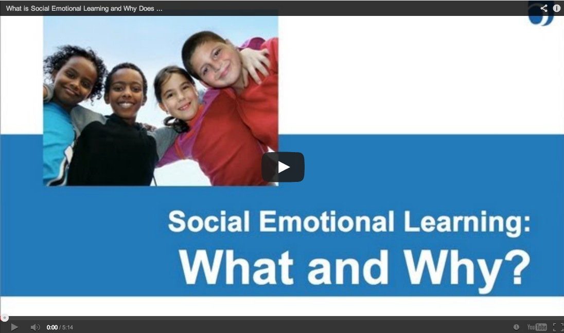 Videos on Social Emotional Learning: What, Why, How