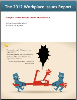 Talent, Leadership, Alignment: Top Workplace Issues for 2012