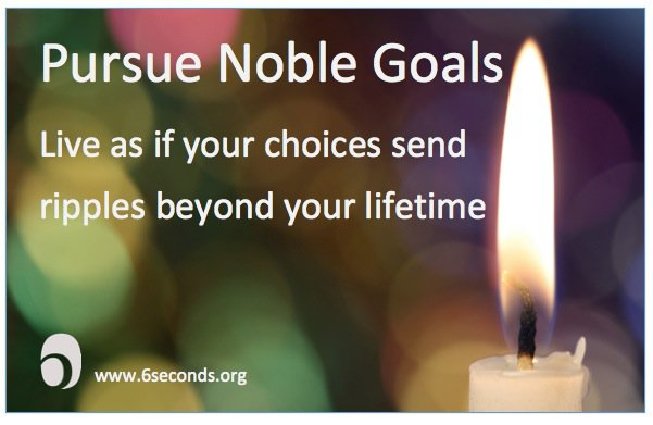 Noble Goals for the New Year