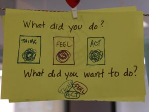 think-feel-act