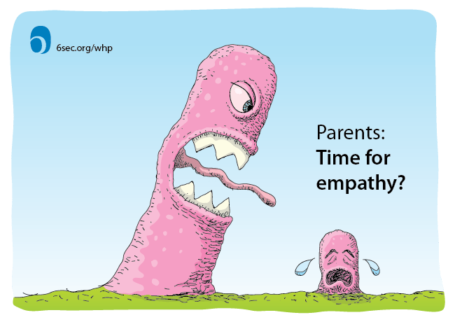 Parents, Want Less Conflict with Your Kids? Try Empathy
