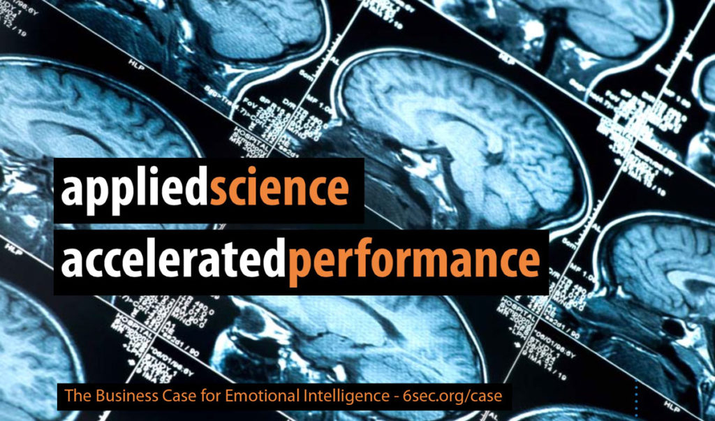 emotional intelligence is a scientifically grounded, measurable skillset that drives business performance