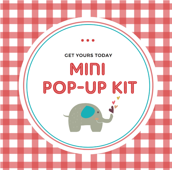 Just in time! Mini POP-UP Kits have arrived