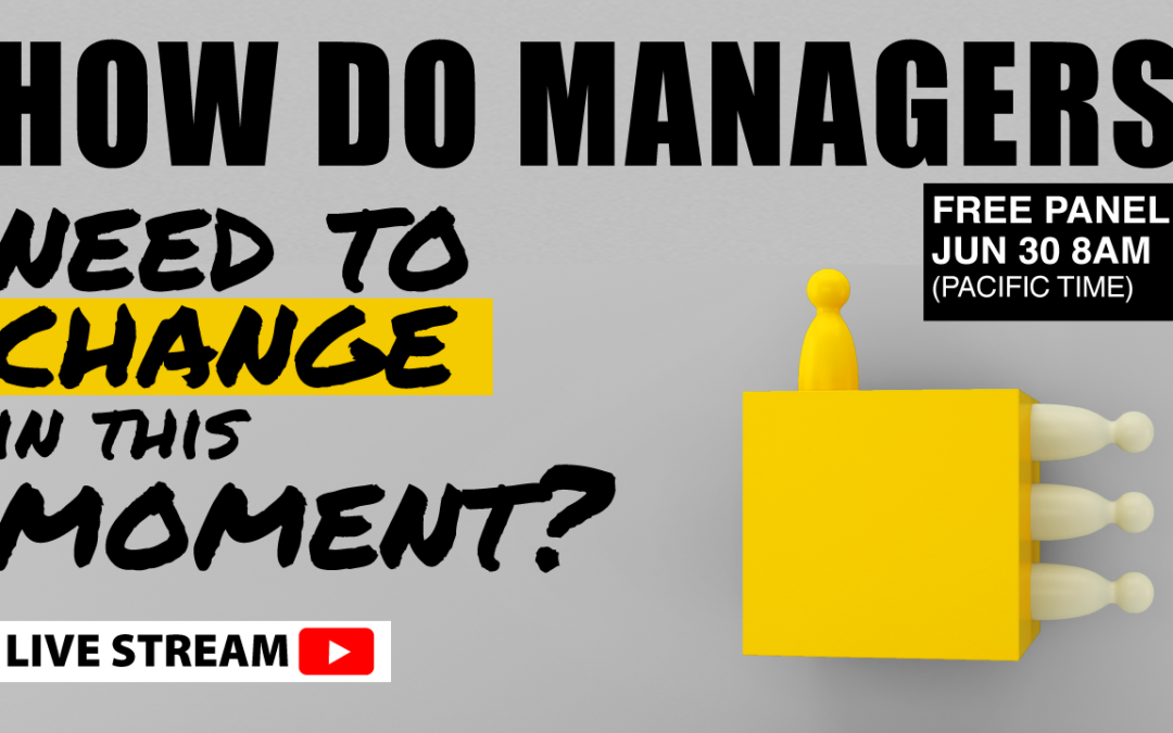 Moment of Truth for Managers: Time to Change? (#15)